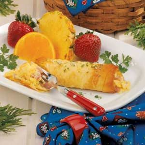 Ham and Cheese Strudel Recipe