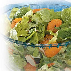 Orange Almond Romaine Salad Recipe
