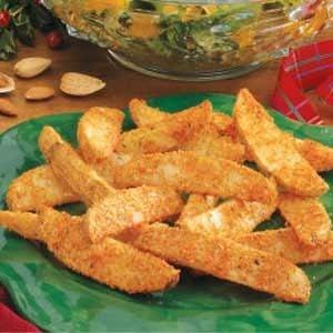Parmesan Potato Wedges Recipe