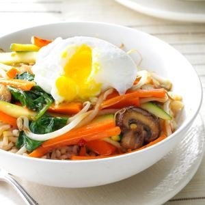 Stir-Fry Rice Bowl Recipe
