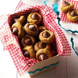 Pumpkin-Gingerbread Thumbprint Cookies Recipe