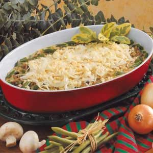 Savory Green Bean Casserole Recipe