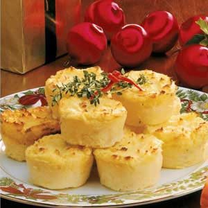 Mashed Potato Timbales Recipe