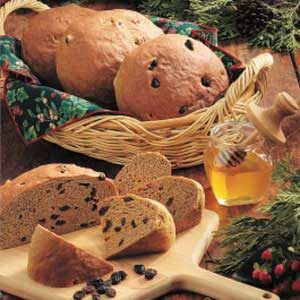Country Raisin Rye Bread Recipe