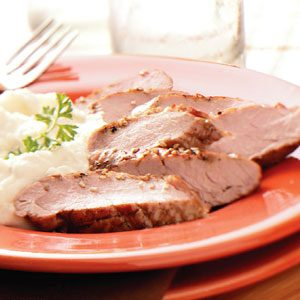 Honey-Dijon Pork Tenderloin Recipe