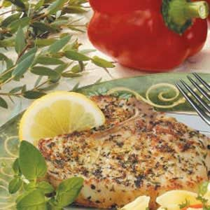 Herbed Lemon Pork Chops Recipe