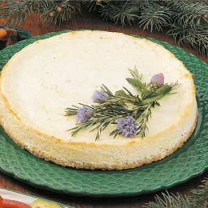 Savory Swiss Cheesecake