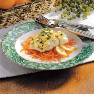 Sunshine Halibut Recipe