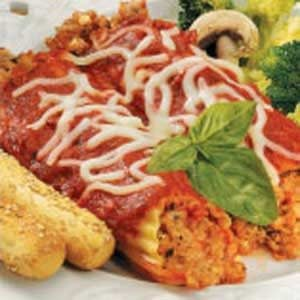 Bulgur Turkey Manicotti Recipe
