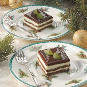 Chocolate Mint Eclair Dessert Recipe