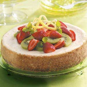 Light Lemon Cheesecake Recipe