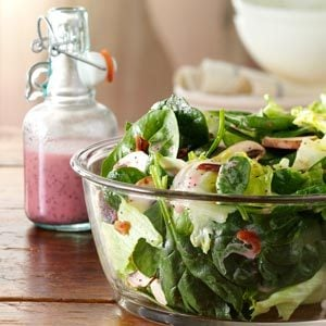Spinach Salad with Poppy Seed Dressing Recipe