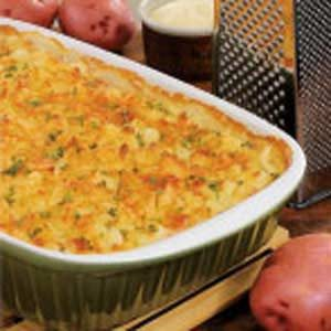 Rich and Creamy Potato Bake Recipe