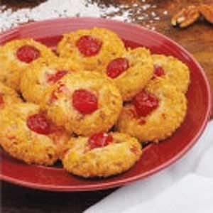 Cherry Crunch Cookies Recipe