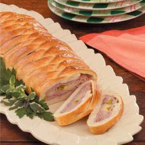 Ham and Swiss Braid Recipe