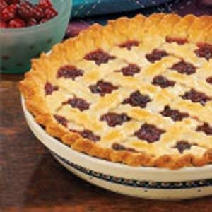 Raisin Cranberry Pie Recipe