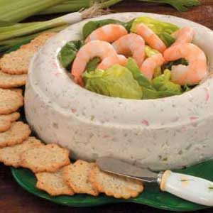Molded Shrimp Spread Recipe
