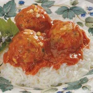 Turkey Meatballs in Garlic Sauce Recipe