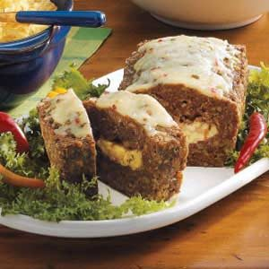Pepper Jack Meat Loaf Recipe