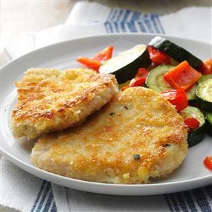 Breaded Mustard & Sage Pork Cutlets Recipe
