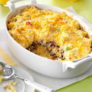 Sausage Hash Brown Bake Recipe