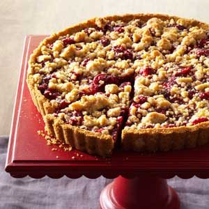 Cranberry-Orange Crumb Tart Recipe