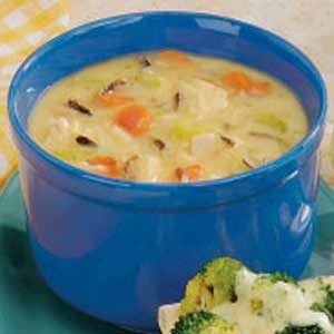 Quick Chicken and Wild Rice Soup