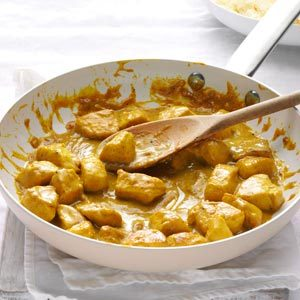 Mango Chutney Chicken Curry Recipe