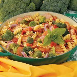 Broccoli Sausage Simmer Recipe