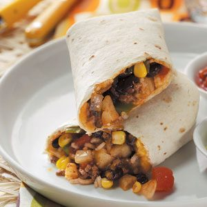 Hearty Burritos Recipe