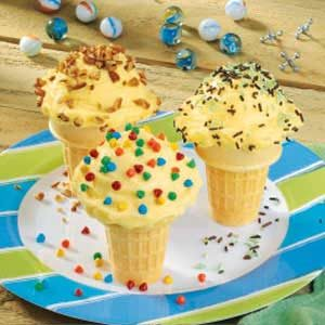 Puddin' Cones Recipe
