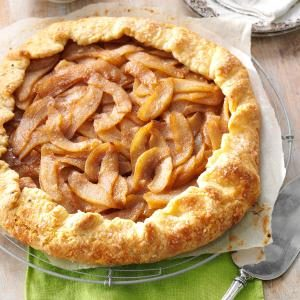 Cinnamon-Pear Rustic Tart Recipe