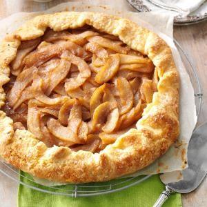 Cinnamon-Pear Rustic Tart Recipe