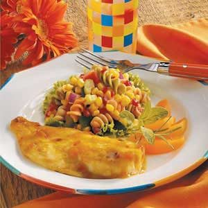 Glazed Orange Roughy Recipe