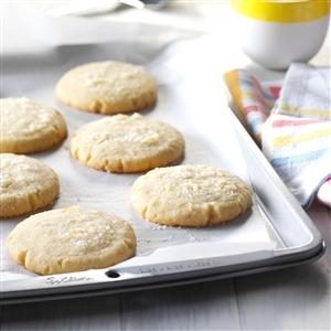 Lemon & Rosemary Butter Cookies Recipe
