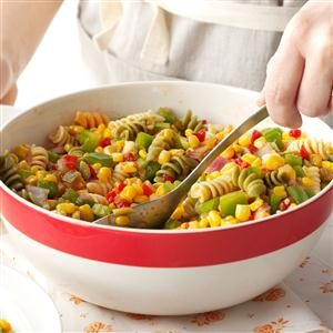 Corn Pasta Salad Recipe
