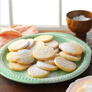 Honey-Lime Almond Cookies Recipe