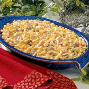 Golden Tuna Casserole Recipe