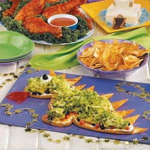 Taco Dip Dragon Recipe