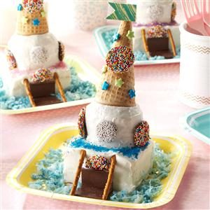 Miniature Castle Cakes Recipe