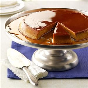 Cinnamon-Spiced Pumpkin Flan Recipe