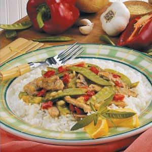Ginger Pork Stir-Fry Recipe