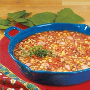 Black-Eyed Pea Sausage Stew