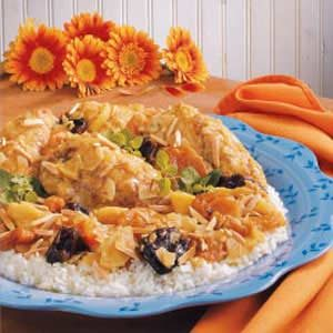 Fruited Chicken Curry Recipe