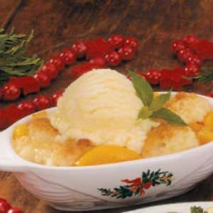 Individual Peach Cobbler Recipe