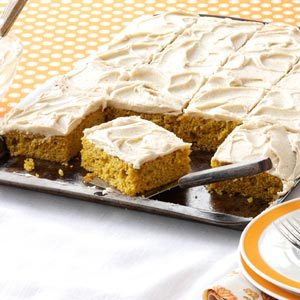 Pumpkin Bars with Browned Butter Frosting Recipe