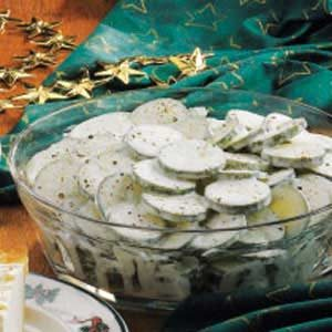 Easy Cucumbers in Cream Recipe