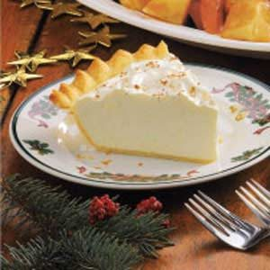 Homemade Eggnog Pie Recipe