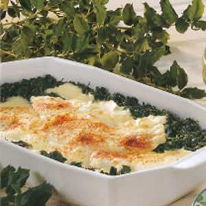Flounder Florentine Recipe