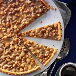 Walnut Toffee Tart Recipe
